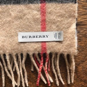 Classic Check Burberry scarf
